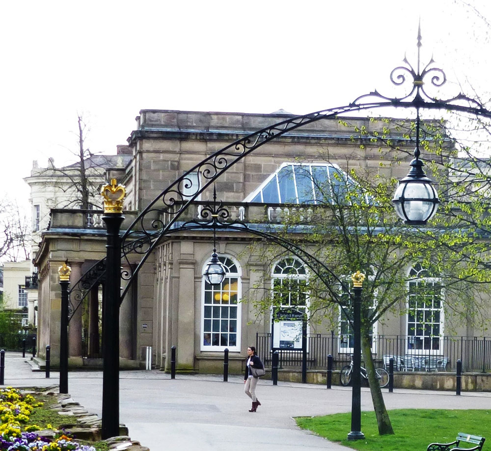 WDC, Heritage Arches, Leamington Spa